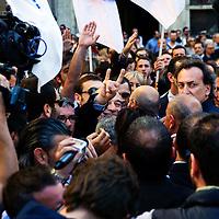 Proteste contro Prodi Presidente