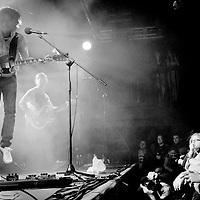 Greg Gilbert of The Delays performing live at The Liquid Room, Edinburgh, Scotland