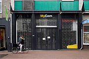Nederland, Nijmegen, 12-2-2019Een vestiging, filiaal, van computerwinkel MyCom is gesloten omdat de winkel failliet is gegaan .Foto: Flip Franssen