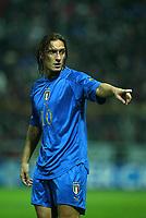 PARMA, 13-10-04<br />Qualificazioni Mondiali<br />Italia Bielorussia<br />nella  foto Francesco Totti<br />Foto Snapshot / Graffiti