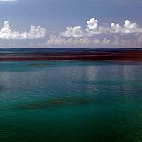 Bermuda. Beautiful seas surrounding Bermuda in the Atlantic.