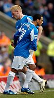 Photo: Richard Lane.<br />Birmingham City v West Bromwich Albion. The Barclays Premiership. 11/03/2006. <br />Birmingham's DJ Campbell replaces Mikael Forssell.