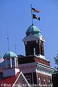 PA Historic Places, Mechanicsburg, PA, Cumberland Co., Washington Fire Company #1, Firehall and Historic Union Church