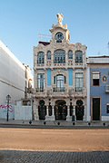 Typical Art Deco House near the canals, Aveiro, Portugal
