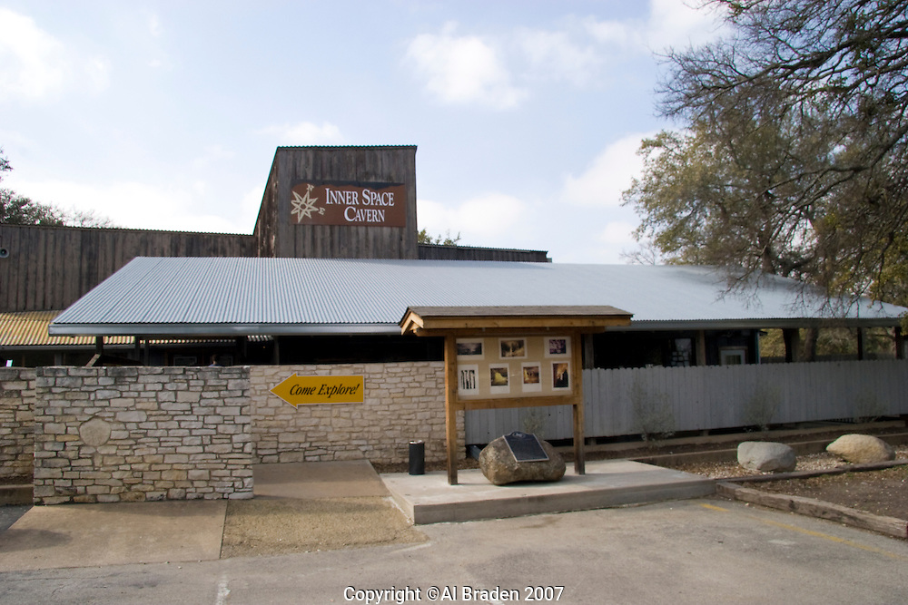 Entrance, Inner Space Cavern near Austin, TX