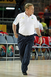 02.09.2014, City Arena, Bilbao, ESP, FIBA WM, Ukraine vs Türkei, im Bild Ukraine's coach Mike Fratello // during FIBA Basketball World Cup Spain 2014 match between Ukraine and Turkey at the City Arena in Bilbao, Spain on 2014/09/02. EXPA Pictures © 2014, PhotoCredit: EXPA/ Alterphotos/ Acero<br /> <br /> *****ATTENTION - OUT of ESP, SUI*****