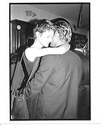 Kirsten McNemy & Miler Aldridge at Richard Aveda show© Copyright Photograph by Dafydd Jones 66 Stockwell Park Rd. London SW9 0DA Tel 020 7733 0108 www.dafjones.com