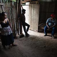 Mayra and Edgar Coc, with Fernando Chub, agricultural advisor for World Renew partner ADIP in Concepción Actelá, Alta Verapaz.