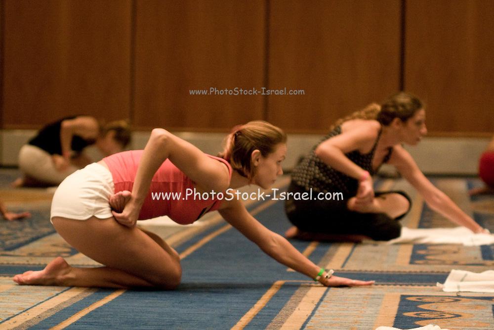 Israel, Eilat Yoga Lesson