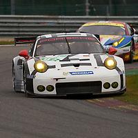 Porsche Team Manthey Porsche 911 RSR #91 driven by Sven Muller / Kevin Estre, WEC 6 Hours of Spa-Francorchamps 2015