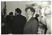 MALCOLM MCLAREN, Sensation Opening. Royal Academy of Art. London.16 September 1997.