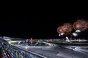 January 24-27, 2019. IMSA Weathertech Series ROLEX Daytona 24. Fireworks at Daytona 24