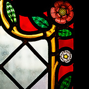 Window in the Church of the Holy Blood. Built between 1134 and 1157 it houses a relic of the Holy Blood allegedly collected by Joseph of Arimathea and brought from the Holy Land after the Second Crusade by Thierry of Alsace (the Count of Flanders 1099 -1168)