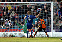 Photo: Kevin Poolman.<br />Crystal Palace v Ipswich Town. Coca Cola Championship. 18/03/2006.Ipswich's Ricardo Fuller (R) scores Ipswich's 2nd goal.