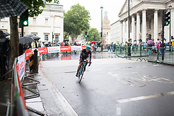 Abigail Van Twisk (GBR) rides past St Martin-in-the-Fields church during the Prudential Ride London Classique - a 66 km road race, starting and finishing in London on July 29, 2017, in London, United Kingdom. (Photo by Balint Hamvas/Velofocus.com)