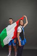 olimpic sports athelts, Elia Viviani and Jessica Rossi