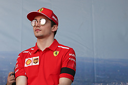 March 16, 2019 - CHARLES LECLERC attending the F1 Driver Q&A Panel on Qualifying Saturday at the 2019 Formula 1 Australian Grand Prix on March 16, 2019 In Melbourne, Australia  (Credit Image: © Christopher Khoury/Australian Press Agency via ZUMA  Wire)