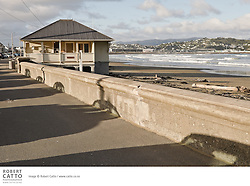 On the south coast of Wellington's eastern suburbs lies Lyall Bay, adjacent to the city's airport and popular with surfers.