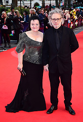 Dalia Ibelhauptaite and Dexter Fletcher attending the Closing Gala and International premiere of The Irishman, held as part of the BFI London Film Festival 2019, London.