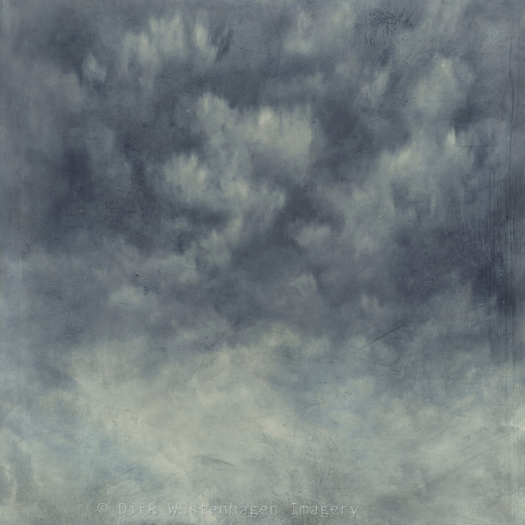 Softly textured sky with clouds - to use as texture or background your personal and commercial works