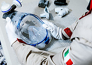 MARANELLO, Ferrari producing with 3d tchnology manifold for masks to be used with respirator