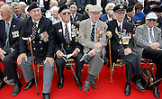 27/05/2010..WWII Veterans aboard a cross channel ferry in Dunkirk during a service to mark the 70th evacuation from the French Port by the 'Little Ships'