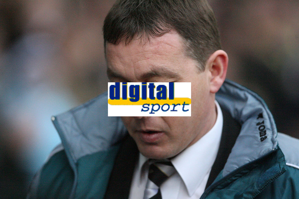 Photo: Pete Lorence.<br /> Derby County v Bristol Rovers. The FA Cup. 27/01/2007.<br /> Billy Davies prior to the match.