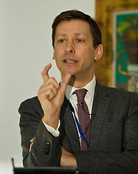 Pictured: John Edward (former head of Office in Scotland, the European Parliament)<br /> <br /> Conference to examine impact of Brexit on Scottish businesses and public services. The event, organised by the Fraser of Allander Institute and Strathclyde Business School, heard from a numbers of speakers including Mark Taylor (Audit Scotland), John Edward (former head of Office in Scotland, the European Parliament), Professor Russel Griggs OBE, (Chair Scottish Government Independent Advisory Regulatory Review Group), Jenny Stewart (head of Infrastructure and Government KPMG), Lynda Towers (Director of public law Morton Fraser), Katerina Lisenkova (Head of economic modelling, Fraser of Allander Institute), Ian Wooton (Professor of Economics and Vice Dean (research) Strathclyde Business School), Alastair Ross FCIPR (assistant Director, Head of Public Policy Association of British Insurers) and  Scottish Brexit Minister Mike Russell<br /> <br /> Ger Harley   EEm 2 March 2017
