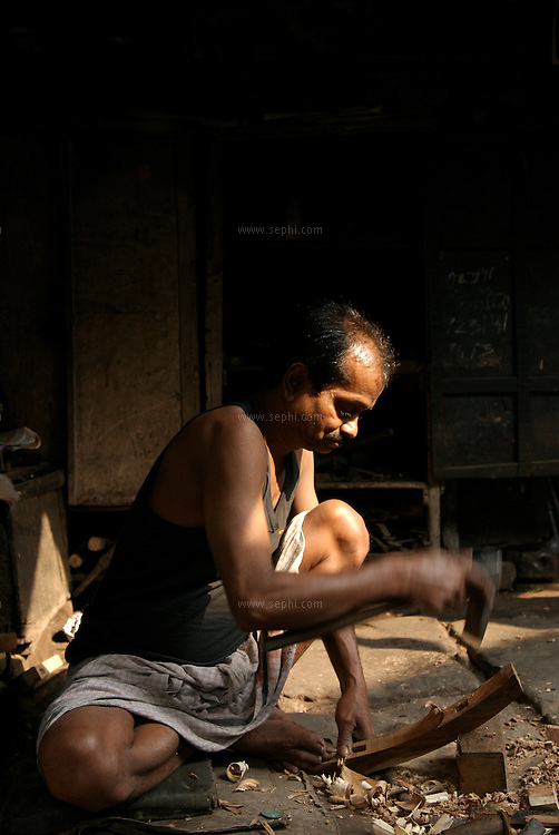 """Lal babu Thakur, the rickshaw mechanic at the dera...The hand-pulled rickshaw of Calcutta, immortalised by Dominic Lapierre's famous novel, City of Joy, will soon be a part of the history books as a bill passed by the West Bengal state assembly described the centuries-old mode of transport as """"inhumane."""".The future of about 18,000 rickshaw pullers in the city, earning an avarage daily wages of about 100 rupees ($2.5).is unclear as they call for a compensation package to help them rehabilitate into alternative jobs."""