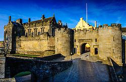 The main entrance to Stirling Castle, Stirlingshire, Scotland<br /> <br /> (c) Andrew Wilson   Edinburgh Elite media