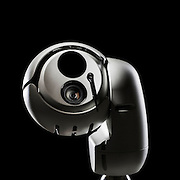 Part of a series of product shots of a surveillance camera, photographed in the Hype creative photography studio by Stuart Freeman.