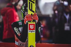 29.12.2018, Schattenbergschanze, Oberstdorf, GER, FIS Weltcup Skisprung, Vierschanzentournee, Oberstdorf, Qualifikation, im Bild Peter Prevc (SLO) // Peter Prevc of Slovenia during his Qualification Jump for the Four Hills Tournament of FIS Ski Jumping World Cup at the Schattenbergschanze in Oberstdorf, Germany on 2018/12/29. EXPA Pictures © 2018, PhotoCredit: EXPA/ Stefanie Oberhauser