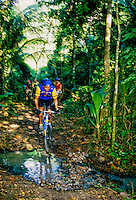 Mountain biking at Anse Chastanet Resort, Soufriere, St. Lucia