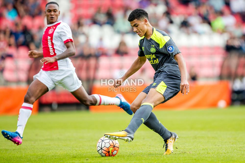 26-08-2017: Voetbal: Ajax O19 v PSV O19: Amsterdam<br /> Zakaria Aboukhlal (PSV)<br /> Supercup O19 - U19<br /> Seizoen 2017-2018