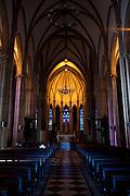 Petropolis_RJ, Brasil...Catedral Sao Pedro de Alcantara em Petropolis, Rio de Janeiro...Sao Pedro de Alcantara cathedral in Petropolis, Rio de Janeiro...Foto: BRUNO MAGALHAES / NITRO