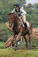 MIRAGE D'ELLE ridden by Pippa Funnell at Bramham International Horse Trials 2016 at  at Bramham Park, Bramham, United Kingdom on 11 June 2016. Photo by Mark P Doherty.