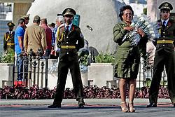December 4, 2016 - Mexico - EUM20161204POL02.JPG.SANTIAGO DE CUBA.- Politics/Pol√≠tica-Fidel Castro.- Con la llegada de los restos de Fidel Castro a al mausoleo en el cementerio de Santa Ifigenia, donde se llev√≥ a cabo una ceremonia privada y familiar, concluyen nueve d√≠as de luto oficial decretados por su muerte, ocurrida la noche del viernes 25 de noviembre. Foto: Agencia EL UNIVERSAL/Jorge Serratos/RCC. (Credit Image: © El Universal via ZUMA Wire)