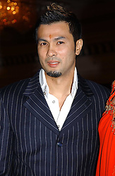 Malaysian Fashion designer BERNARD CHANDRAN at the charity Vanishing Herd Foundation - Conservation Ball held at the Radison Hotel, Portman Square, London on 13th November 2004.<br />