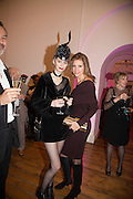ALEXIA WIGHT; ANASTASIA ALEXANDER, Isabella Blow: Fashion Galore! private view, Somerset House. London. 19 November 2013