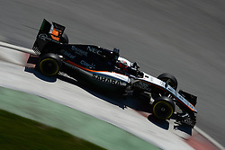 06.06.2015, Circuit Gilles Villeneuve, Montreal, CAN, FIA, Formel 1, Grand Prix von Kanada, Qualifying, im Bild Nico Hulkenberg (GER) Force India VJM08 // during Qualifyings of the Canadian Formula One Grand Prix at the Circuit Gilles Villeneuve in Montreal, Canada on 2015/06/06. EXPA Pictures © 2015, PhotoCredit: EXPA/ Sutton Images/ Patrik Lundin<br /> <br /> *****ATTENTION - for AUT, SLO, CRO, SRB, BIH, MAZ only*****