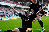 Photo: Jed Wee/Sportsbeat Images.<br /> Middlesbrough v West Bromwich Albion. The FA Cup. 17/02/2007.<br /> <br /> West Brom goalscorer Kevin Phillips celebrates his equalising goal.