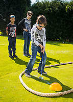 GOUDA - NGF Open Golfdagen , op Golfbaan IJsselweide onder leiding van golfpro Xavier Ruiz-Fonhof. COPYRIGHT KOEN SUYK