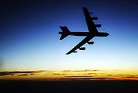 B-52 flight. -- Photo by Jack Gruber, USA TODAY