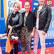 NLD/Amsterdam/20140405 - Filmpremiere Pim & Pom, Iris Hesseling, Anouk Maas en Bart Boonstra