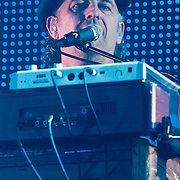 NLD/Rotterdam/20110422 - Concert Single's Only van Kane, toetsenist Nico Brandsen