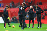 Louis Van Gaal, manager of Manchester United - Manchester United vs. Hull City - Barclay's Premier League - Old Trafford - Manchester - 29/11/2014 Pic Philip Oldham/Sportimage