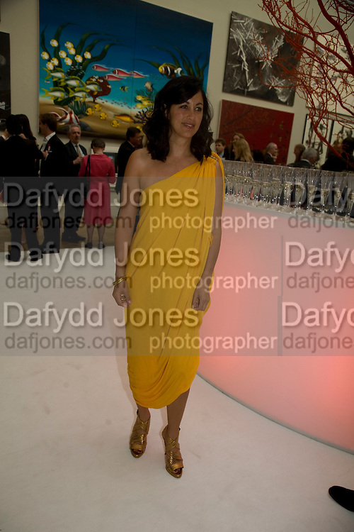 POLLY SAMPSON, 240th Royal Academy Summer Exhibition fundraising private view. Piccadilly. London.4 June 2008.  *** Local Caption *** -DO NOT ARCHIVE-© Copyright Photograph by Dafydd Jones. 248 Clapham Rd. London SW9 0PZ. Tel 0207 820 0771. www.dafjones.com.