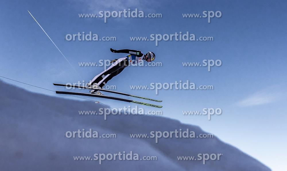 21.02.2019, Bergiselschanze, Innsbruck, AUT, FIS Weltmeisterschaften Ski Nordisch, Seefeld 2019, Nordische Kombination, Skisprung, Training, im Bild Jarl Magnus Riiber (NOR) // Jarl Magnus Riiber of Norway during a training of Ski Jumping competition for Nordic Combined of FIS Nordic Ski World Championships 2019. Bergiselschanze in Innsbruck, Austria on 2019/02/21. EXPA Pictures © 2019, PhotoCredit: EXPA/ JFK
