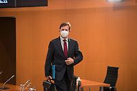 DEU, Deutschland, Germany, Berlin, 30.06.2021: Regierungssprecher Steffen Seibert vor Beginn der 148. Kabinettsitzung im Bundeskanzleramt.