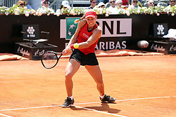 May 18, 2018 - Rome, Rome, Italy - 18th May 2018, Foro Italico, Rome, Italy; Italian Open Tennis; Angelique Kerber (GER) in action during her quarte-final match lost 6-4, 6-4 against Elina Svitolina (UKR). Credit: Giampiero Sposito/Pacific Press (Credit Image: © Giampiero Sposito/Pacific Press via ZUMA Wire)